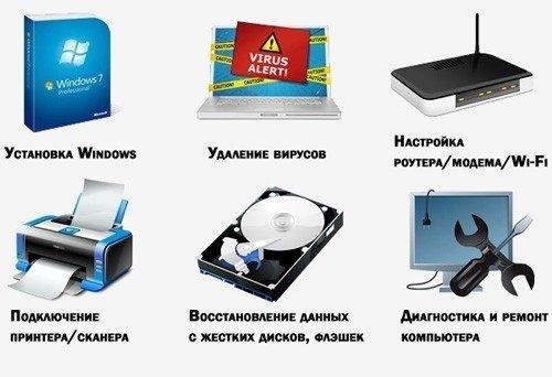компьютерные услуги Тюмень